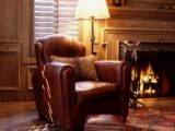 rustic lounge chair